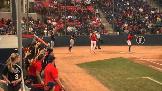 Auburn Softball vs Arizona Highlights