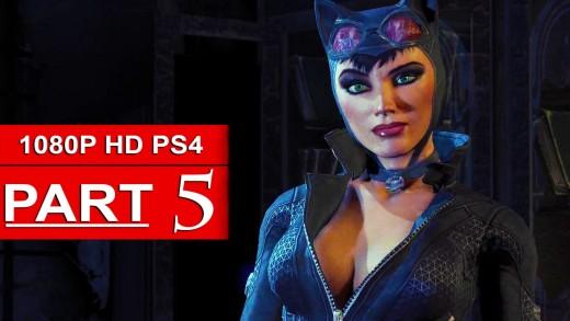 Batman Arkham Knight Gameplay Walkthrough Part 5 [1080p HD PS4] Catwoman – No Commentary