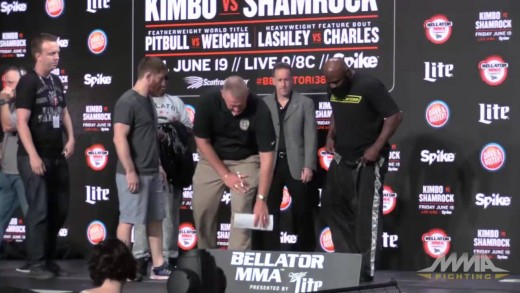 Bellator 138 Weigh-ins: Kimbo Slice vs. Ken Shamrock