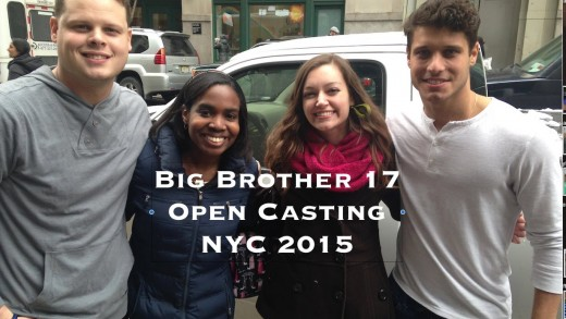 Big Brother 17 Open Call NYC 2015