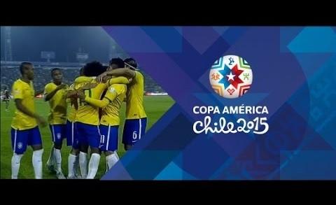 Brasil x Venezuela (2-1) Todos os Gols & Highlights РCopa Am̩rica 2015
