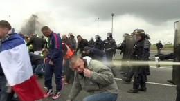 Chaos in Calais: Verkehr im Eurotunnel gesperrt