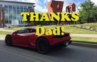 Dad Made Me Do It!  Happy Father's Day VLOG from the Huracan