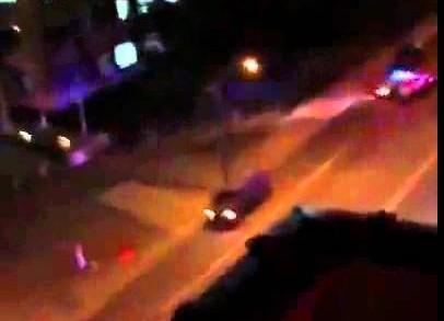 Dallas Police Shootout Killed James Boulware (RAW VIDEO) Moment Van Smashes Into Dallas Drives Off