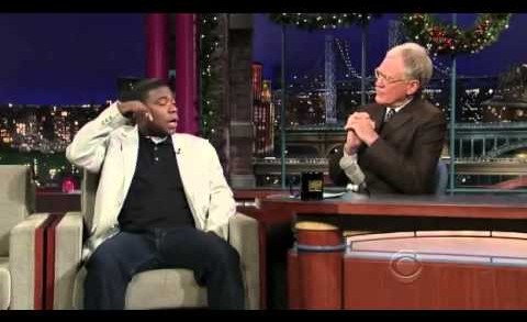 David Letterman, HQ, Tracy Morgan, 12/26/08