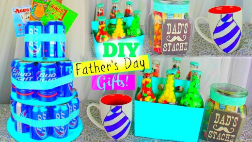 DIY Father's Day Gifts!   Pinterest Inspired ♡