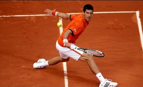 Djokovic vs Nadal Amazing rally (Roland Garros 2015)