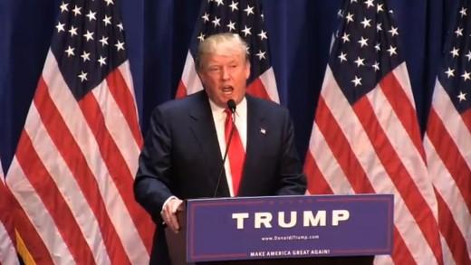 Donald Trump — Running for President!