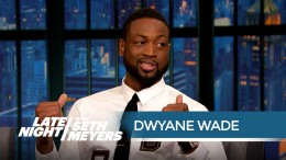 Dwyane Wade Can't Resist Watching the NBA Playoffs – Late Night with Seth Meyers