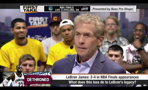 ESPN First Take – LeBron James' Legacy After Cavaliers Loss to Warriors ?