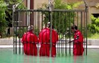 Estado Islâmico afoga homens espiões