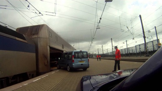 EuroTunnel – Folkstone to Calais July 2012