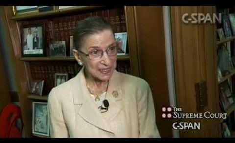 Excerpts from C-SPAN's Interviews with Supreme Court Justices