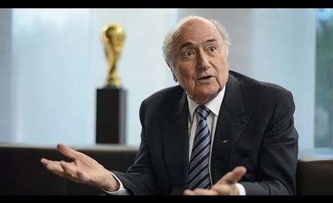 FIFA President Sepp Blatter Says He'll Resign
