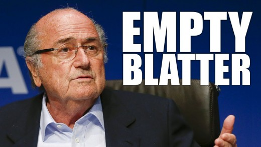 FIFA Supervillain Sepp Blatter Takes His Balls And Goes Home