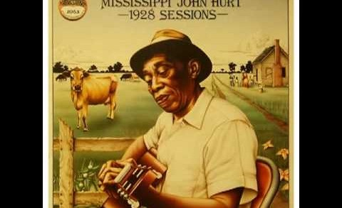 'Frankie' MISSISSIPPI JOHN HURT (1928) Folk Blues Guitar Legend