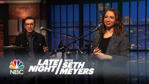 Fred Talks: How to Stay Warm This Winter with Maya Rudolph – Late Night with Seth Meyers