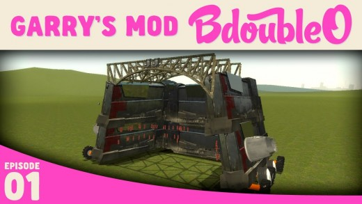 Garry's Mod Battle Bots w/ B-Team and friends!