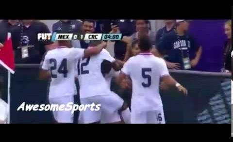 Gol de David Ramírez – Mexico vs Costa Rica 0-1 Amistoso Internacional 2015