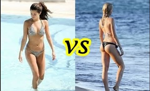Guerra de bikinis Selena Gomez vs Hailey Baldwin