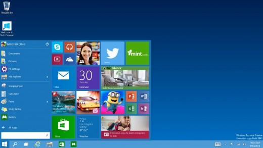 Here's What Windows 10 Looks and Feels Like