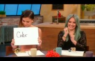 Hilary Duff and Sutton Foster on The Rachael Ray Show (Apr 14th, 2015)