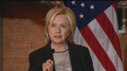 Hillary Clinton: Confederate Flag Shouldn't Fly Anywhere