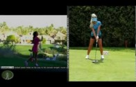 Holly Sonders and Natalie Gulbis: Golf Swing Analysis