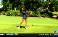 Holly Sonders Golf Swing – Face On