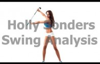 Holly Sonders Swing Analysis: Learn How to Make a Good Shoulder Turn