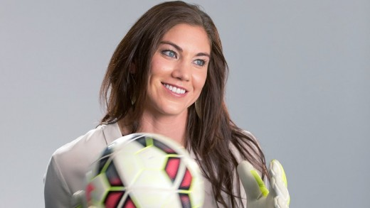 "Hope Solo's Story – ""One Nation. One Team. 23 Stories."""