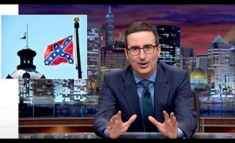 "John Oliver Rants Against Confederate Flag: ""Racist,"" ""Bad Flag"""