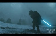 Jon Snow VS White Walker Lightsaber + Army of Darkness