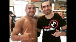 Jonas Bilharinho on imitating Conor McGregor (UFC 189 training w/ Jose Aldo)