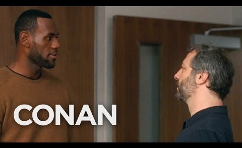 Judd Apatow On Directing LeBron James  – CONAN on TBS