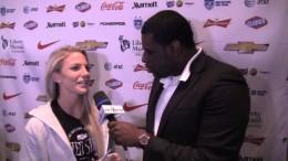 Julie Johnston interview (USWNT Media Day)