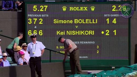 Kei Nishikori 1R – Wimbledon 2015 Highlights