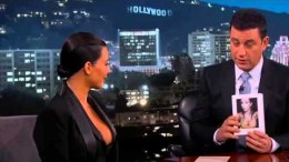 Kim Kardashian West on Jimmy Kimmel – 4/30/2015 – Full Interview
