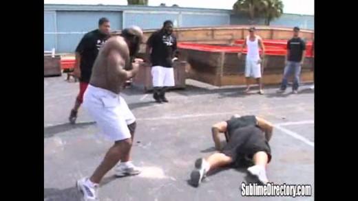 Kimbo Slice vs Afropuff & Big Mac