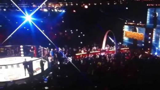 Kimbo Slice vs Ken Shamrock Full fight with Intro, Entrance & interview