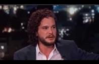 Kit Harington – Jimmy Kimmel Interview – 6/10/2015 (Jon Snow – Game Of Thrones)