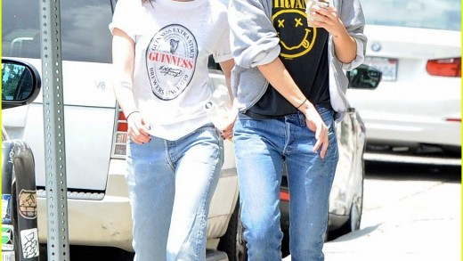 Kristen Stewart & Alicia Cargile Begin Weekend in Silverlake