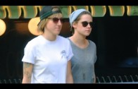 Kristen Stewart Holds Hands with Lady Friend Alicia Cargile