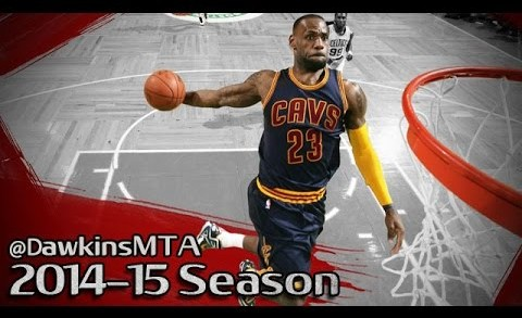 LeBron James All 2014-15 Season DUNKS Part1 – FILTHY Slams!