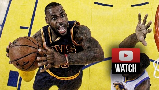 LeBron James Full Game 5 Highlights at Warriors 2015 Finals – 40 Pts, 14 Reb, 11 Ast