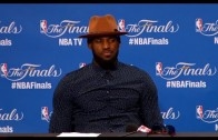 LeBron James FULL Press Conference After Game 6 – NBA Finals