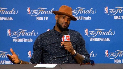 LeBron James Postgame Interview – Part 2 | Warriors vs Cavaliers | Game 6 | 2015 NBA Finals