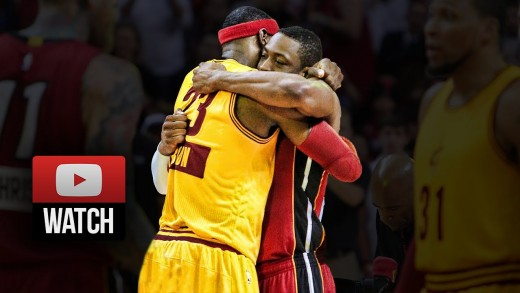 LeBron James vs Dwyane Wade EPIC Duel Highlights Heat vs Cavaliers (2014.12.25) – Future Teammates?