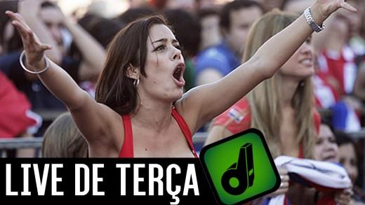 LIVE DE TERÇA – LÉO MOURA É DO VASCO