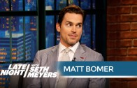 Matt Bomer: Singing Helped Me Strip in Magic Mike XXL – Late Night with Seth Meyers